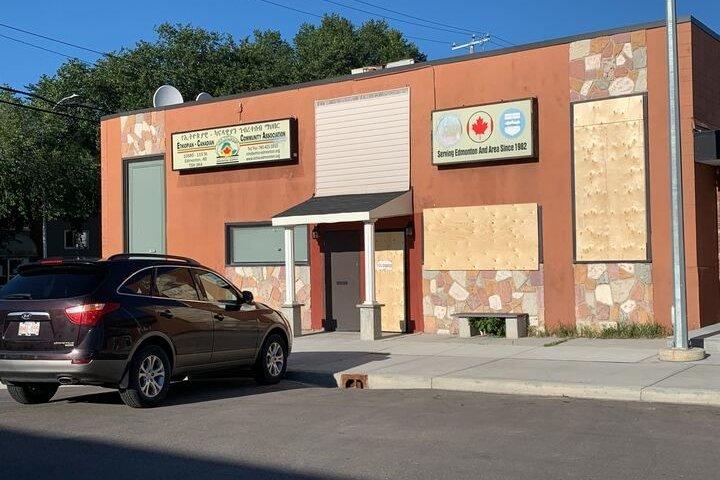 Edmonton's Ethiopian-Canadian Community Association seeks answers after building vandalized again