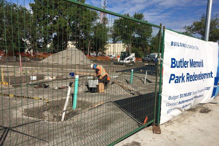 Edmonton's construction season well underway despite coronavirus pandemic setbacks