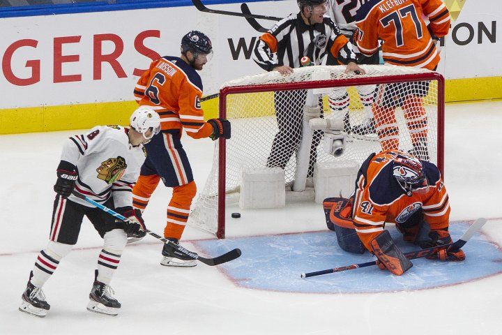 Edmonton Oilers hoping to rise up after taking big blow in game one