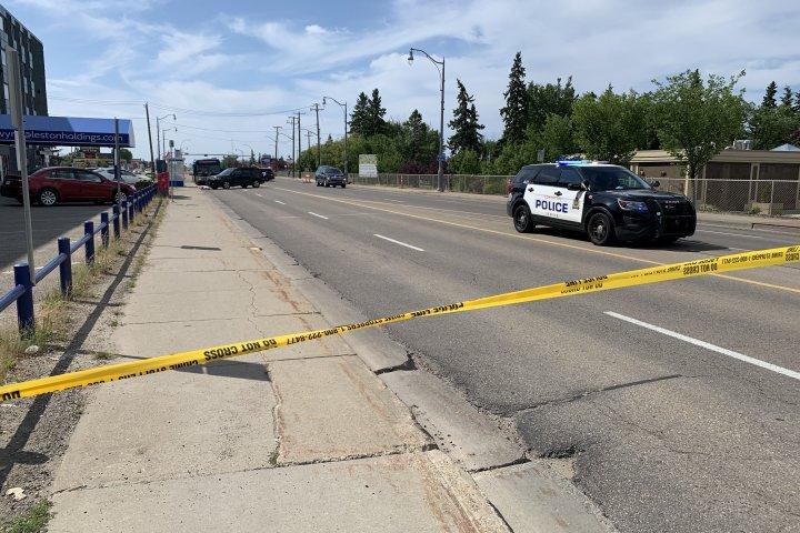 Edmonton homicide detectives investigate west-end death