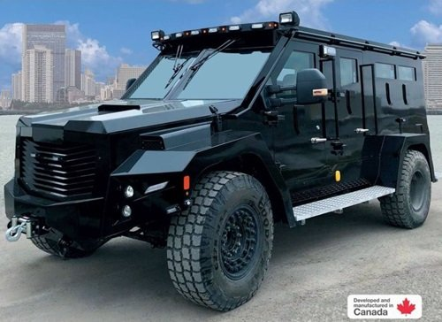 Edmonton police spend $500K to replace armoured vehicle this fall