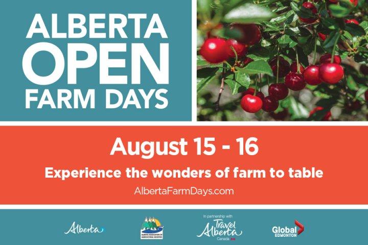 Global Edmonton supports: Alberta Open Farm Days
