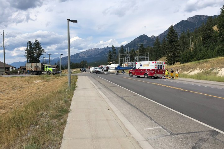 Man in critical condition after motorcycle crash near Radium, B.C.