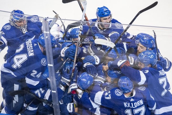 NHL pushes game back a day after Lightning, Blue Jackets go into 5th OT