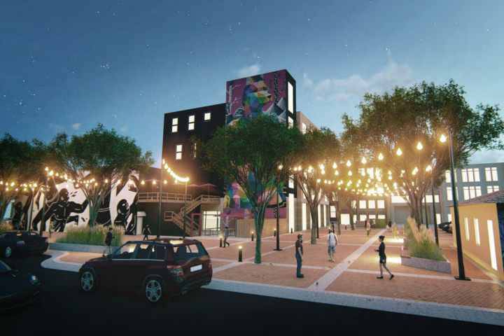 Old Strathcona Back Street concept shared with public, needs community fundraising to fully move forward