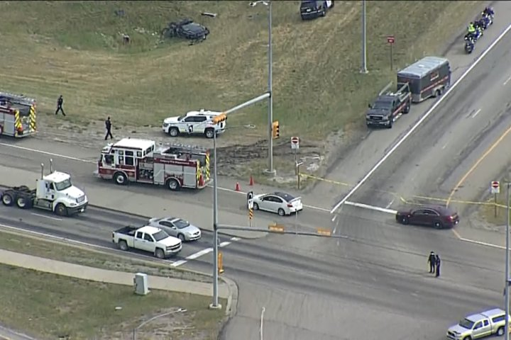 One person killed, another seriously injured in Stoney Trail crash