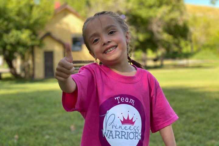 Parents of young Springbank girl march to bring awareness of 'silent disease'