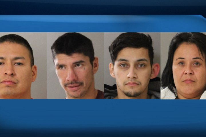 RCMP release images of 4 suspects wanted for attempted murder in Sturgeon Lake