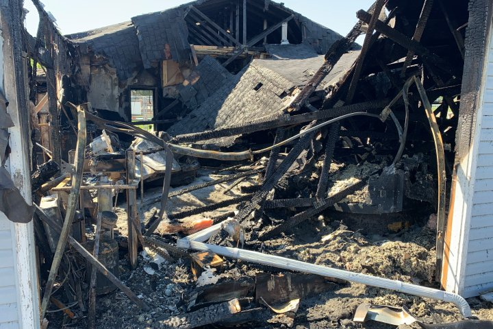 Sylvan Lake attraction destroyed by fire