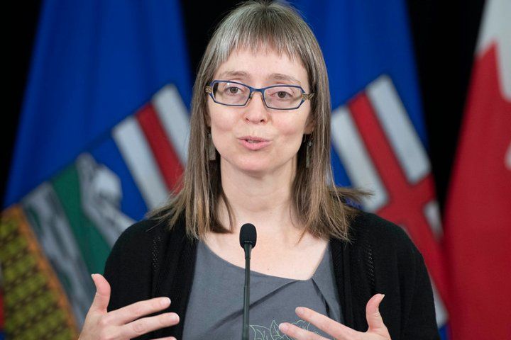 Alberta's chief medical officer of health to provide COVID-19 update Friday