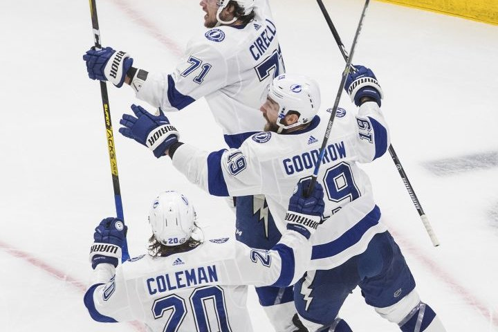 Cirelli scores in OT to take Tampa Bay Lightning to Stanley Cup Final with 2-1 win over Islanders