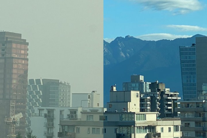 How the U.S. wildfires are impacting air quality from B.C. to Ontario
