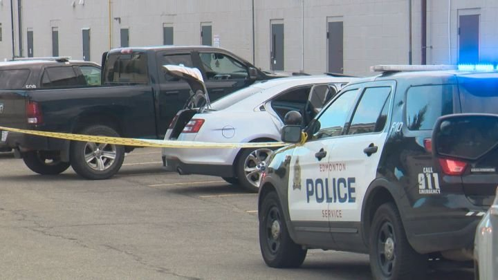 Police search for suspect after person critically injured in north Edmonton shooting