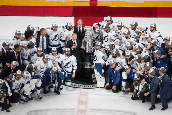 Tampa Bay Lightning defeat Dallas Stars 2-0 to win Stanley Cup