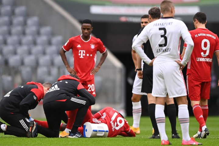 Ankle injury could sideline Canadian star Alphonso Davies for 2 months