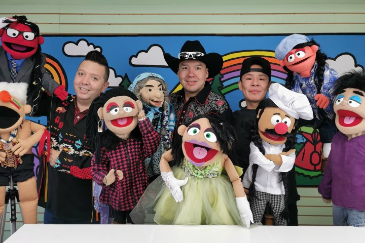 Blood Tribe uses puppets to deliver COVID-19 messaging to children