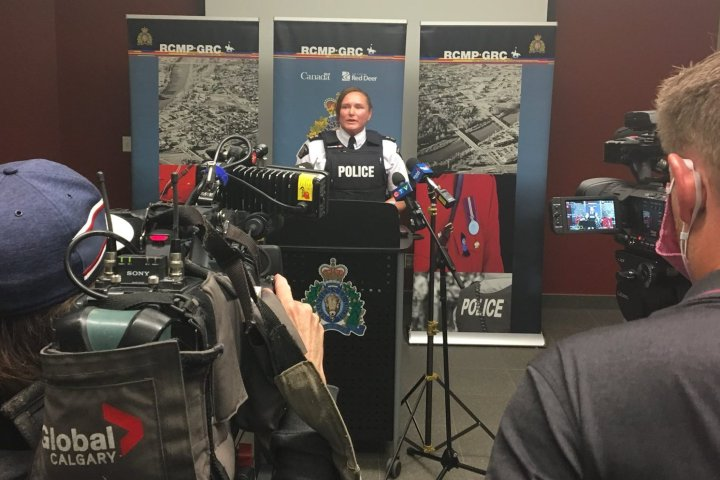 Man charged with assault in connection with Red Deer rally in September: RCMP