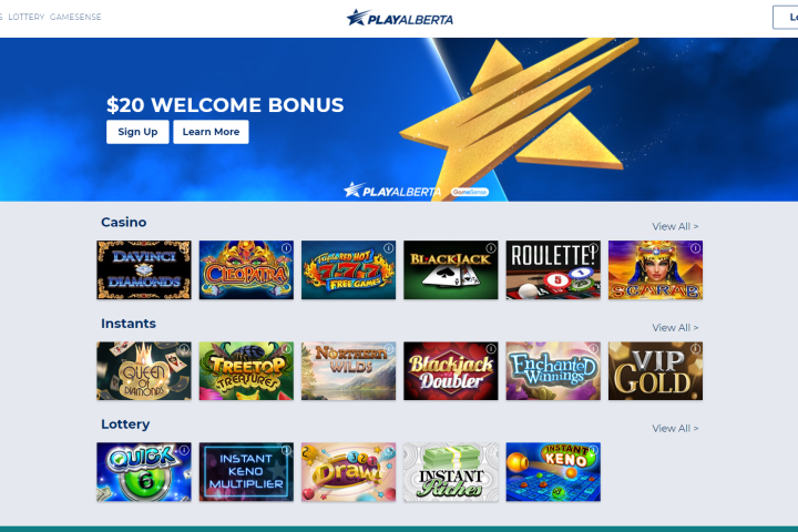 PlayAlberta, regulated online gambling website, launched Thursday