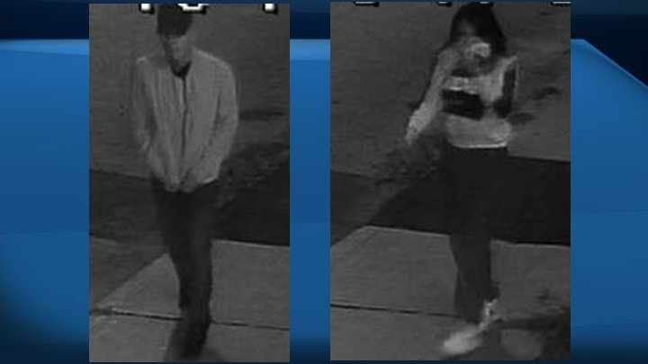 Police release images of suspects, suspect vehicle in central Edmonton shooting