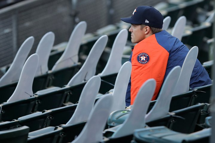 Rick Zamperin: Houston Astros pitcher Zack Greinke would rather play without fans
