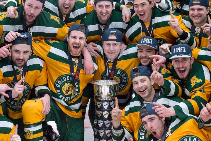 U of A Golden Bears to tangle on the ice with Team Canada in Red Deer