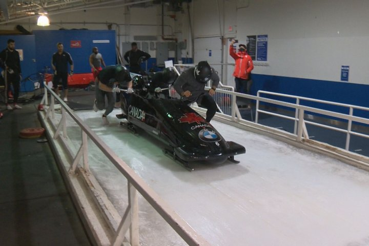 CFLers chase gold medals as part of Canada's national bobsleigh team