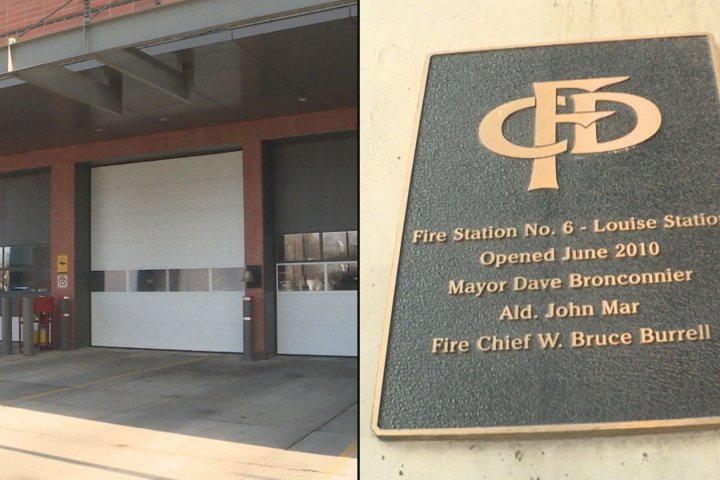 Calgary firefighter union calls recommendation to close downtown fire hall 'a disaster in the making'