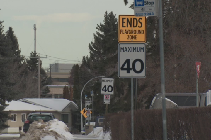 Edmonton's default residential speed limit lowering to 40 km/h next summer