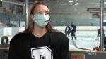 Edmonton player making history in female hockey league