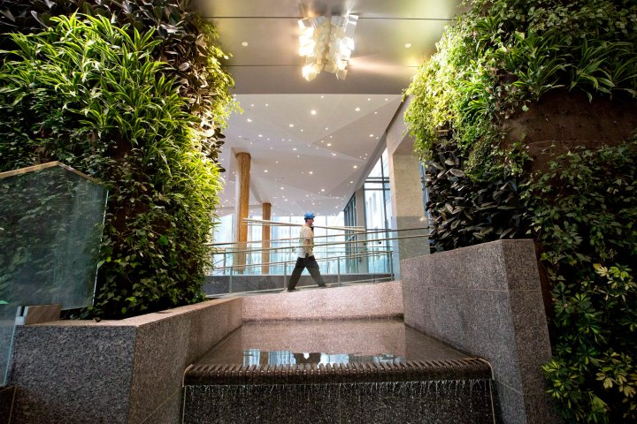 Federal Building's living wall coming down as part of cost-cutting measure: UCP