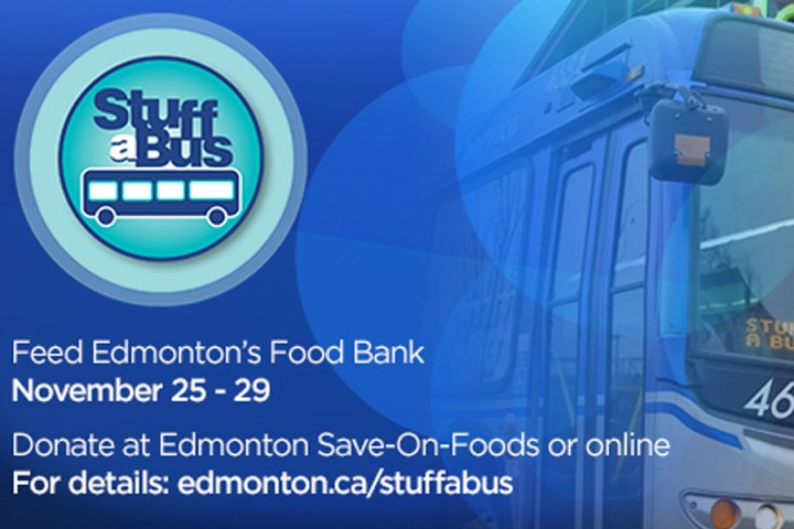 Global Edmonton supports: ETS Stuff a Bus