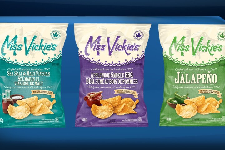 Miss Vickie's says chips recalled in Eastern Canada also shipped to western cities