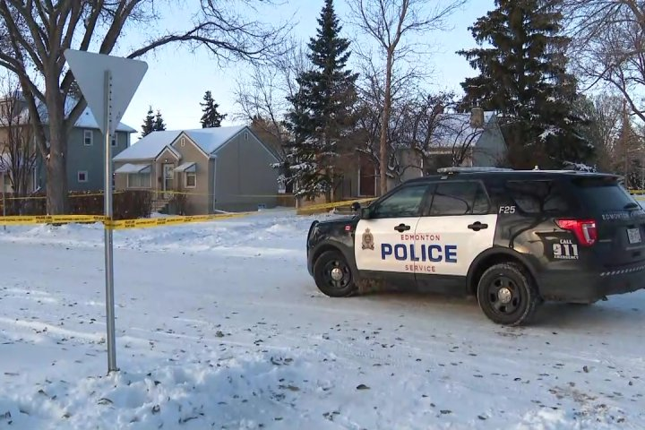 Person found dead inside central Edmonton home; homicide detectives investigating