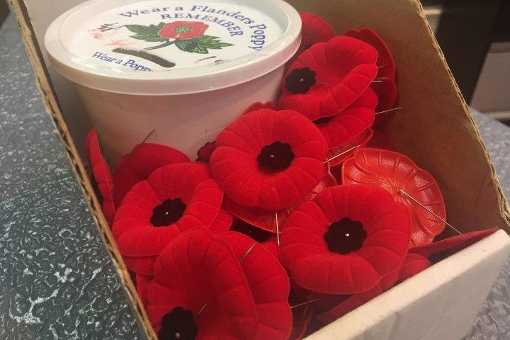 Royal Canadian Legion worried about donations as COVID-19 reduces number of poppy boxes in Alberta