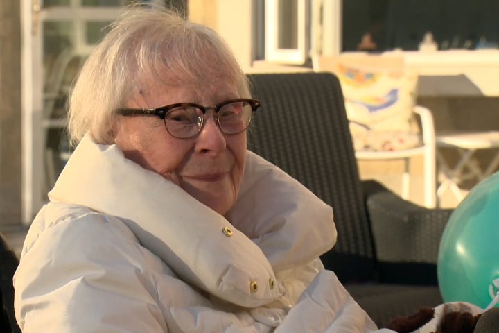 Second World War veteran living in Calgary celebrates '10 Days of Mavis' for 100th birthday