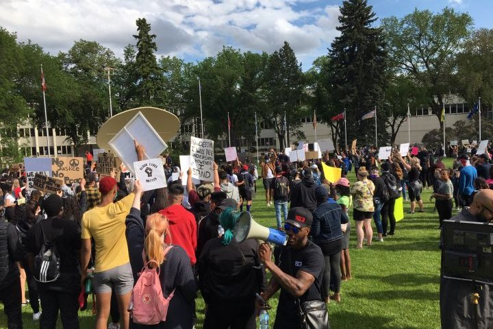 7 months after massive anti-racism rally in Edmonton, efforts to address the issues continue
