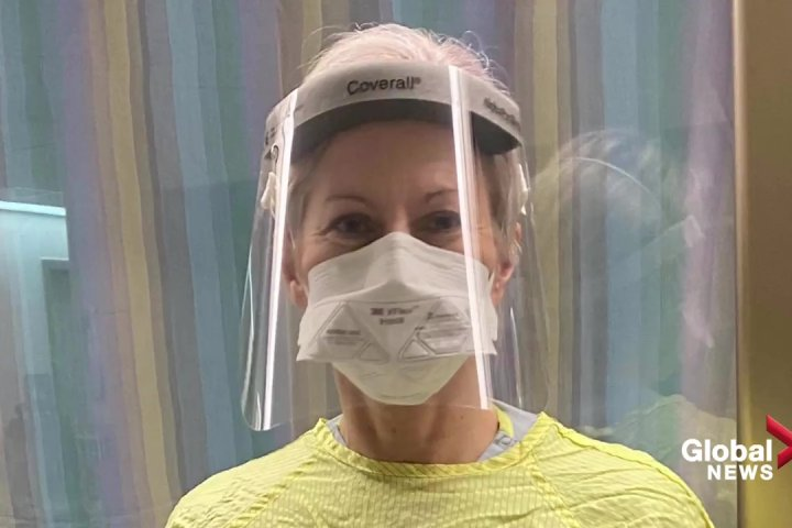 A glimpse inside an Edmonton ICU full of COVID-19 patients