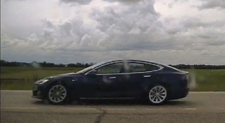 'A legal first': B.C. man accused of dangerous driving for sleeping in self-driving, speeding Tesla