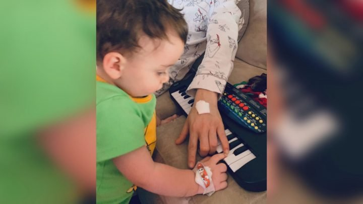 Edmonton toddler and mom dealing with serious diagnosis