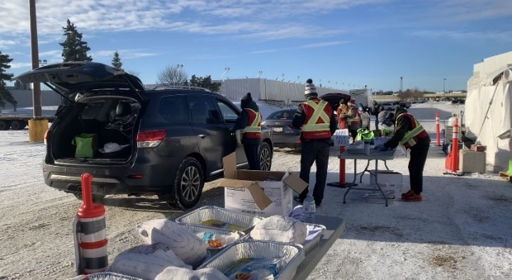 Holiday Hamper Program in Edmonton sees record delivery campaign