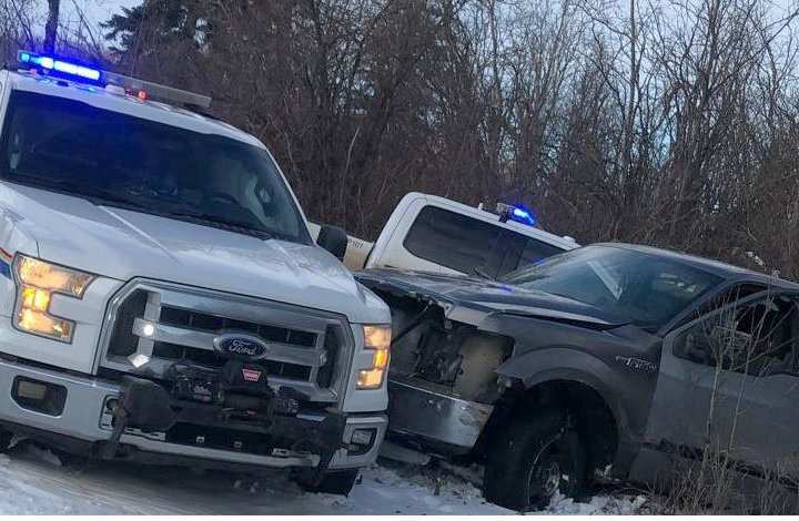 Man charged after ramming police vehicles during Christmas Eve chase in northern Alberta
