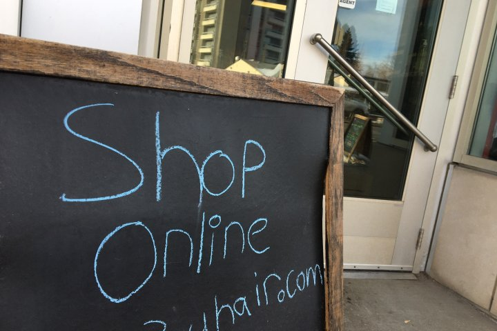 Some struggling Edmonton businesses expand online