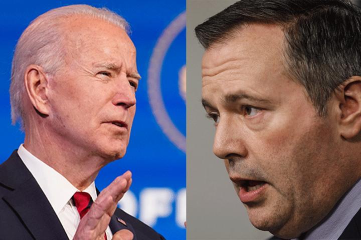 Alberta premier urges Biden to show Canada 'respect' on Keystone XL file