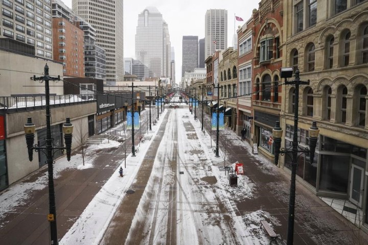 Calgary's downtown office vacancy rates hit record levels amid oilpatch woes