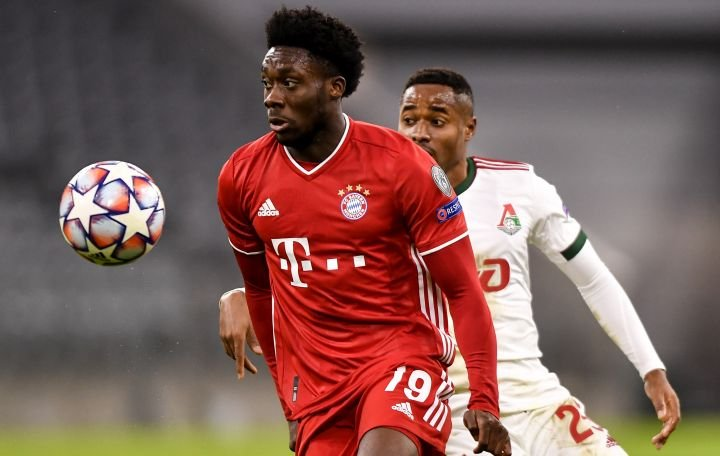 Canadian soccer star Alphonso Davies named to L'Equipe's world team of the year in 2020