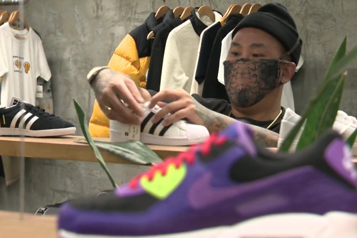 Growing sneaker-collecting community helps keep Edmonton business alive