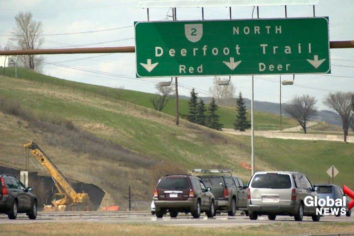 Recommendations in Deerfoot Trail study include carpool lanes, interchange improvements