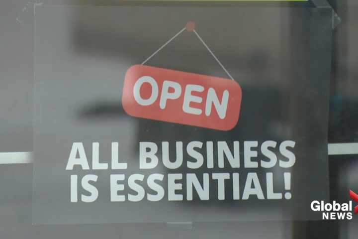 Rural Alberta businesses open for in-person dining, not following mask rules despite restrictions