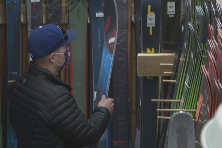 Southern Alberta ski hills, retailers thrilled with winter sports spike