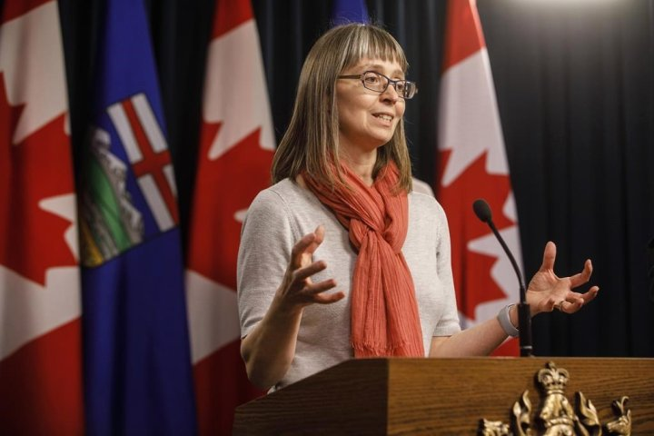 COVID-19: Hinshaw admits no specific threshold, cutoff to halt province's reopening